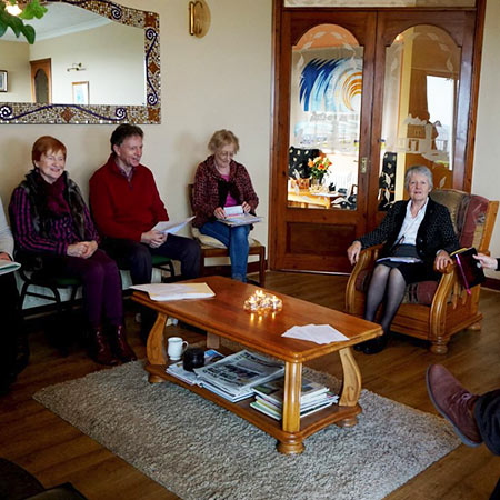 Gathering in Galilee sitting room