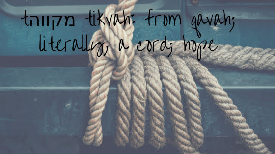 The Rope of Hope: How to hold on - What to let go - How to be held.