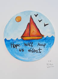 Niamh Morris - Hope will keep us afloat: Finding what gives you a lift in stormy seas